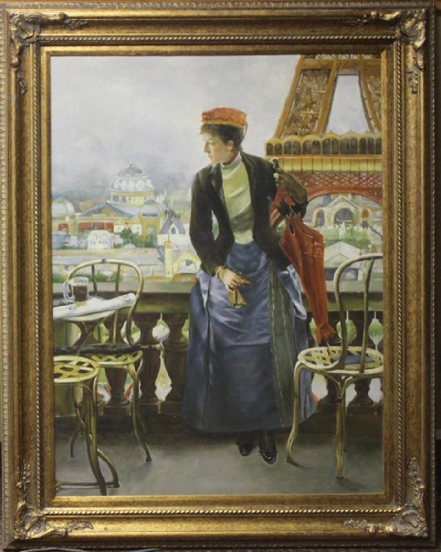 Views of Paris - Original Painting 49x36