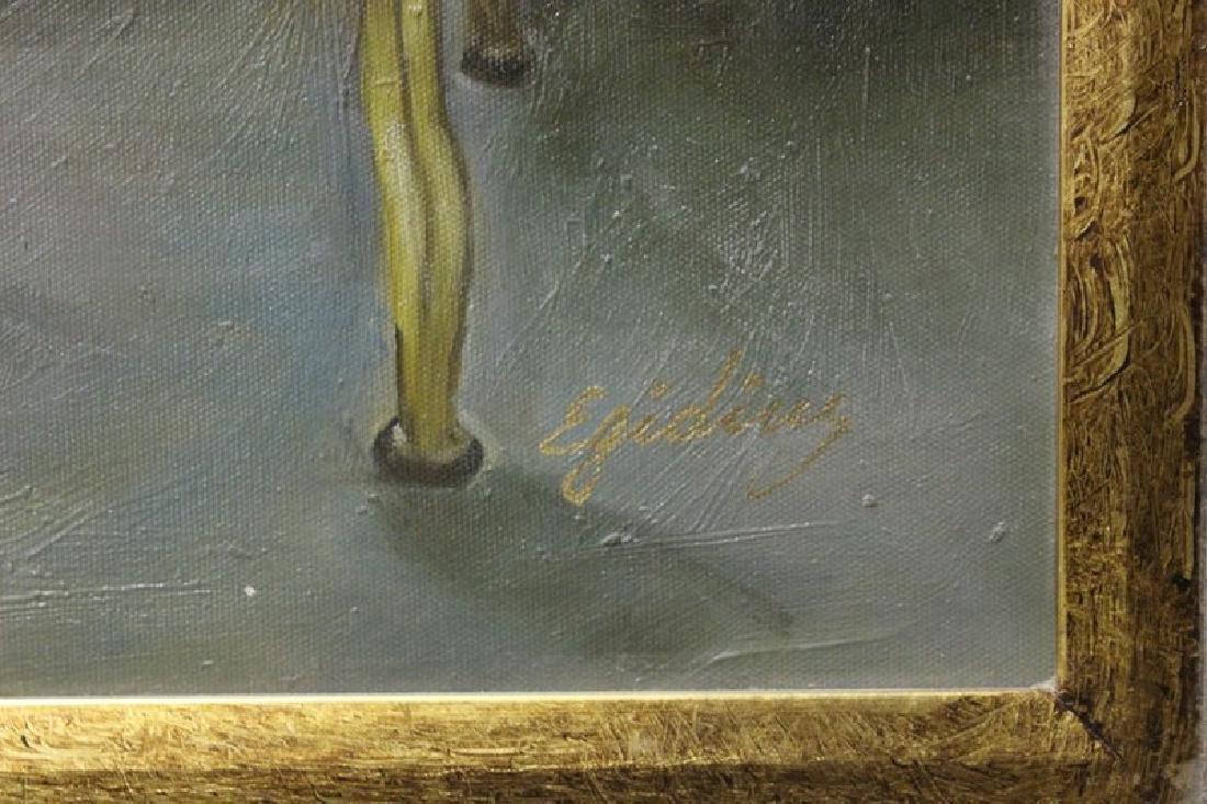 Views of Paris - Original Painting 49x36 - 2