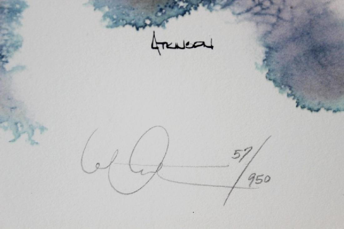 Hand Signed Ltd Ed Michael Atkinson - On Walden - 3