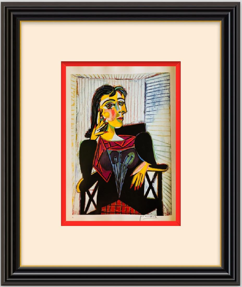 Portrait of Dora Maar-Picasso