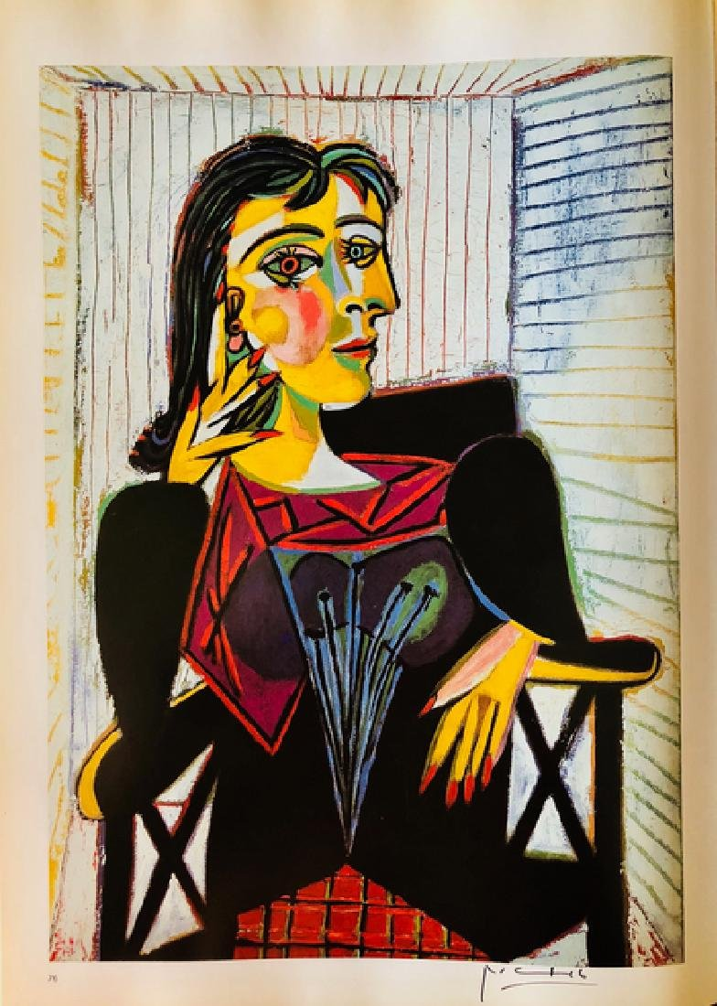 Portrait of Dora Maar-Picasso - 2
