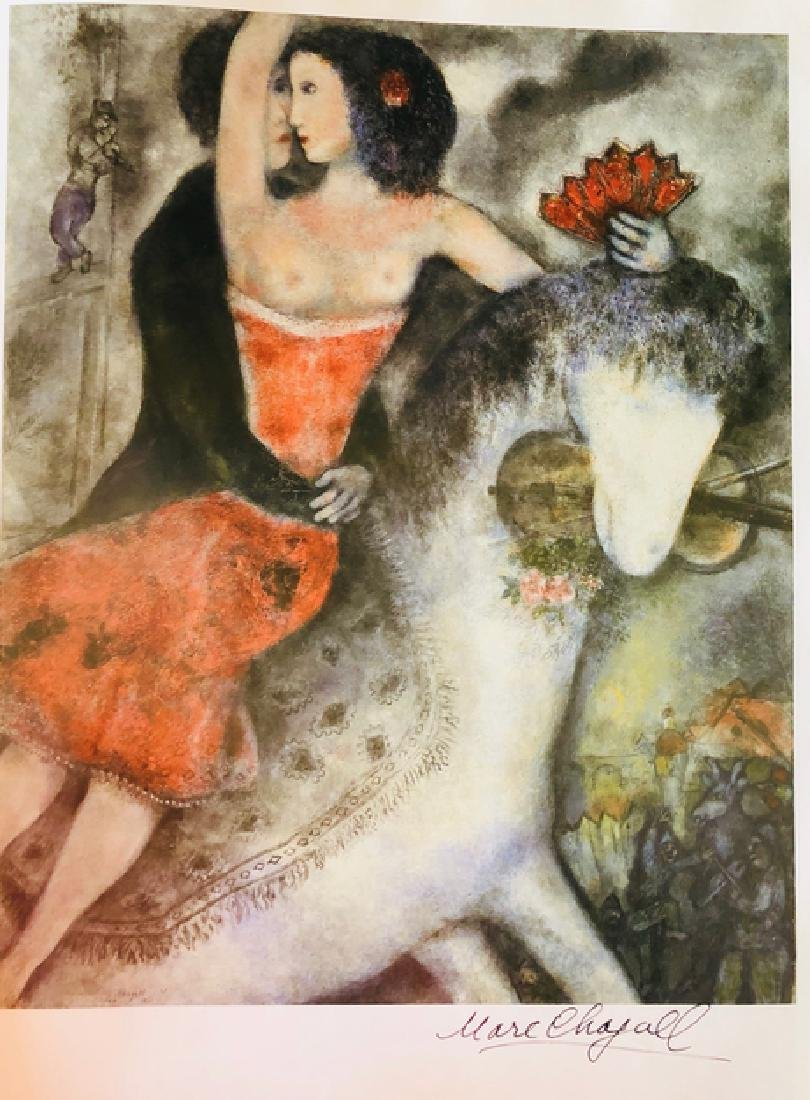 """Circus Rider"" by Chagall - 2"