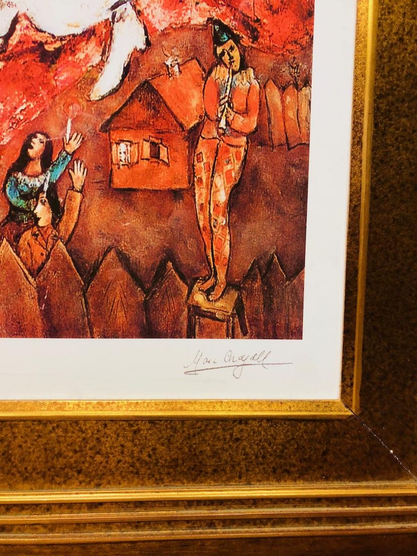 The Three Candles by Marc Chagall - 2