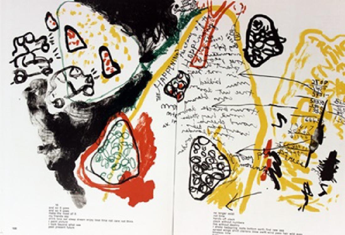 Original Lithograph Allan Kaprow - 2