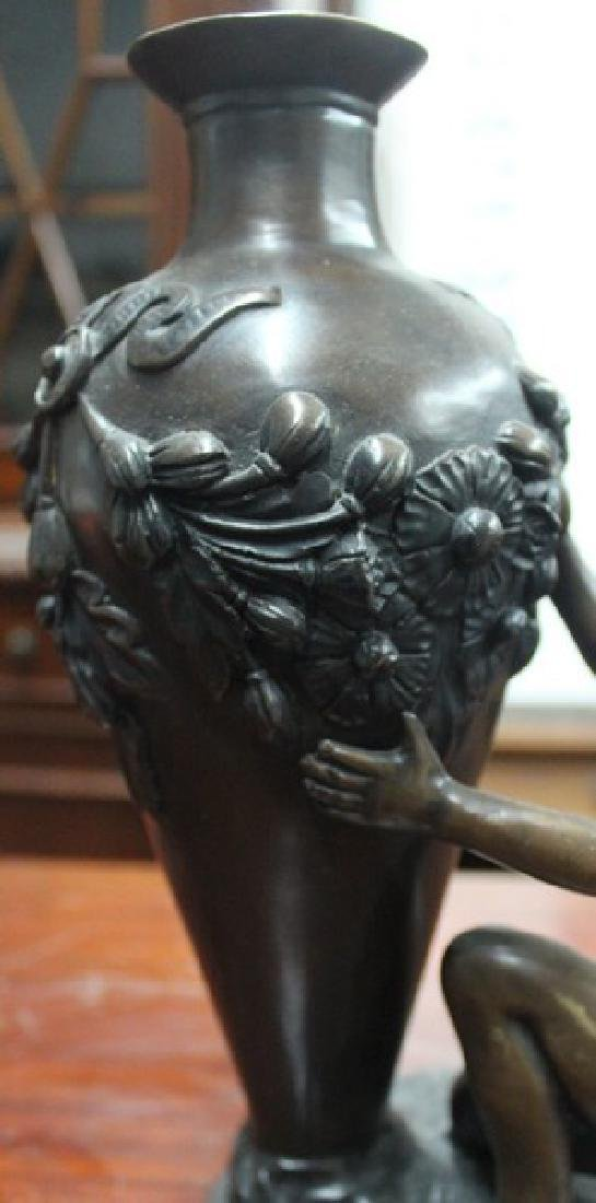 Bronze Sculpture after Auguste Moreau - 2