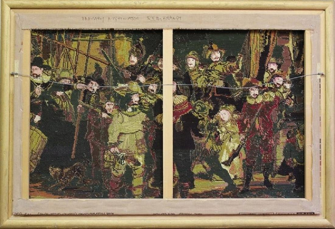 Night Watch - Tapestry After Rembrandt - 2