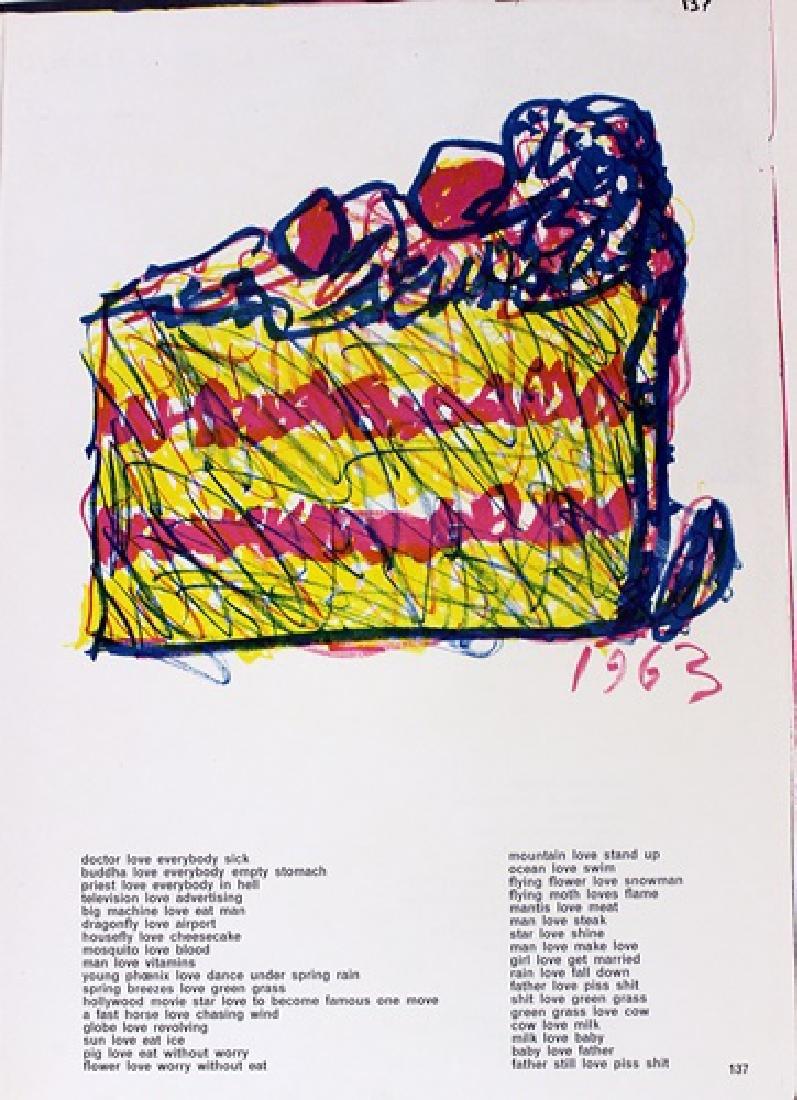 Original Lithographs Sam Francis & Jim Dine - 7