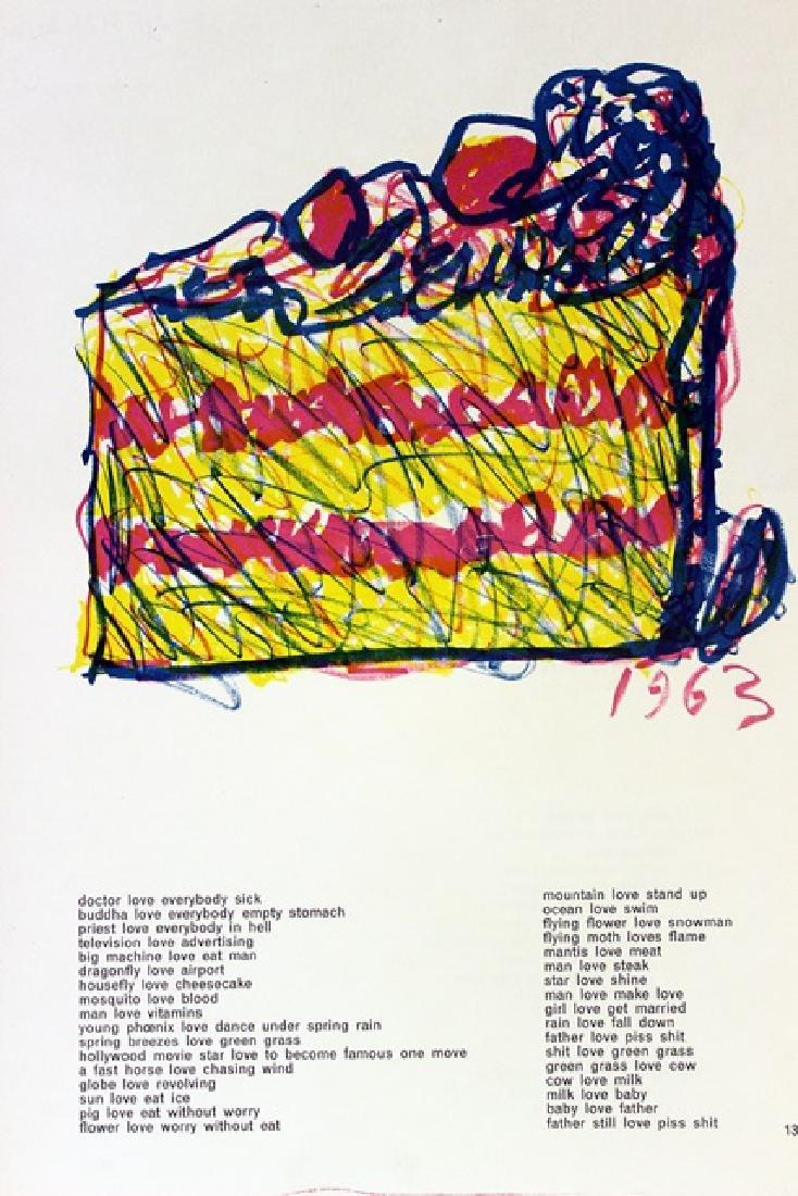 Original Lithographs Sam Francis & Jim Dine - 8