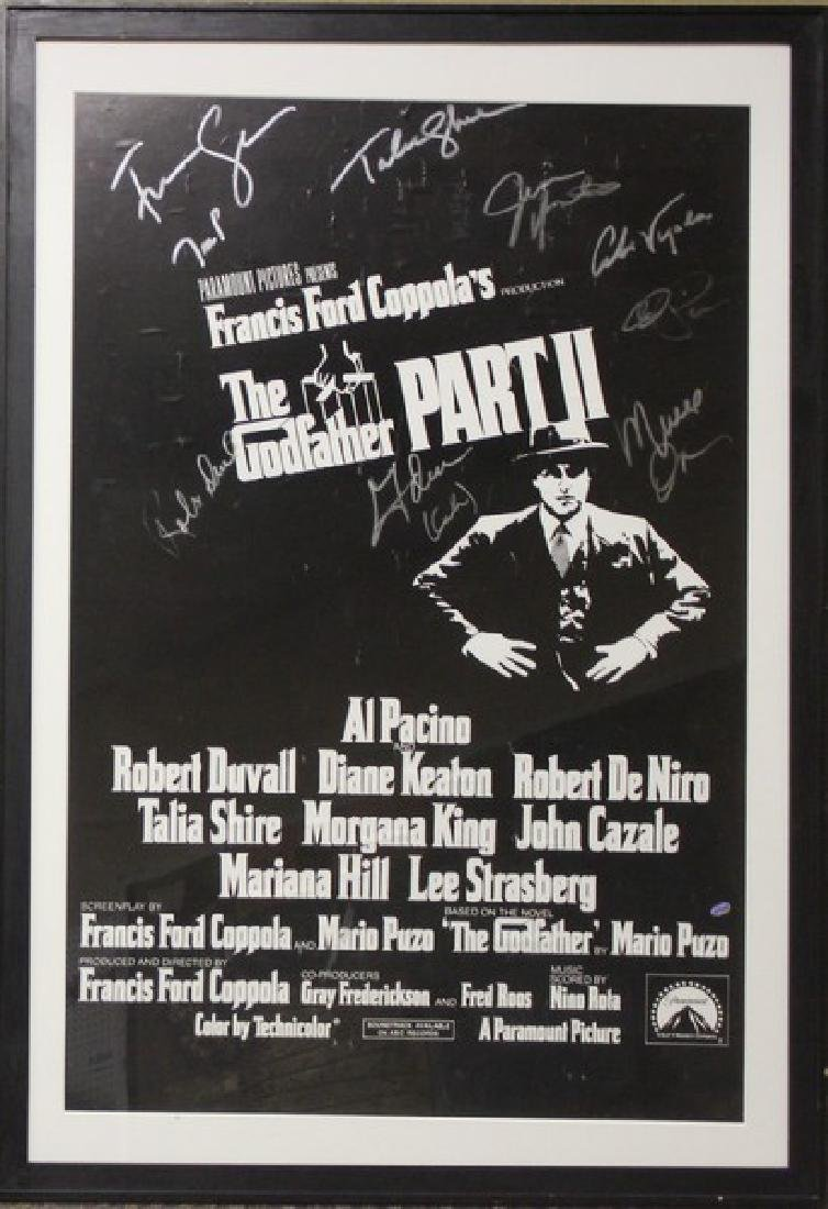 The GodFather Signed Movie Poster