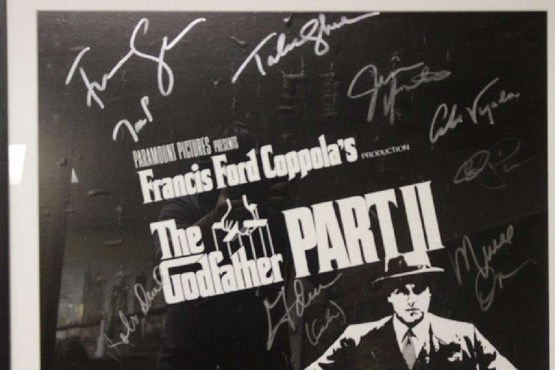 The GodFather Signed Movie Poster - 3