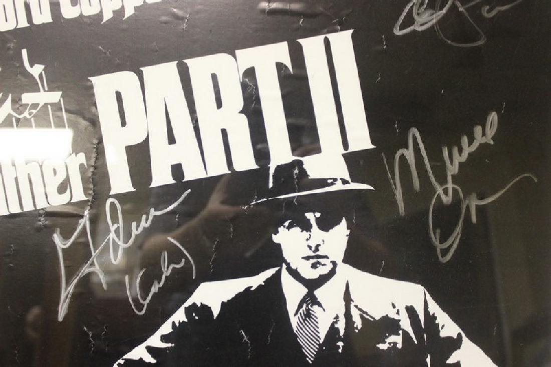 The GodFather Signed Movie Poster - 4