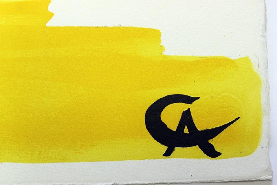 Original Signed Lithograph by Alexander Calder - 3