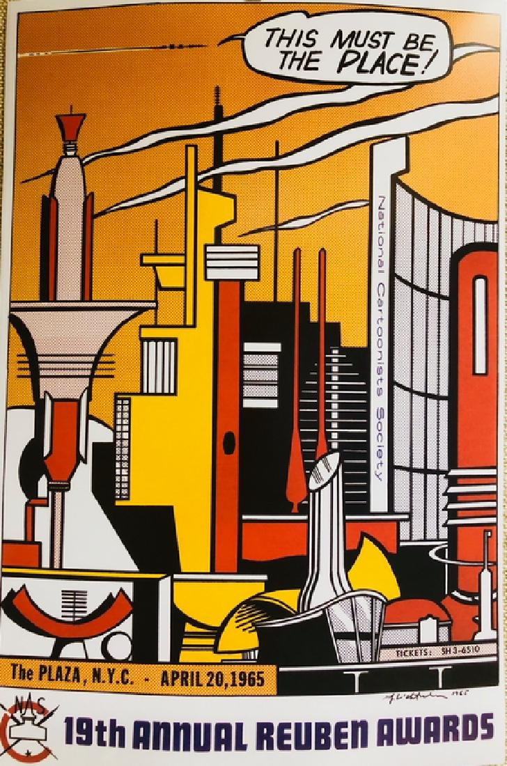 This Must be The Place-by ROY LICHTENSTEIN - 2