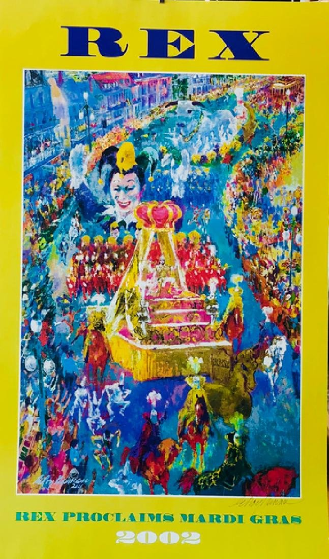 """Mardi Gras"" - LeRoy Neiman - 2"