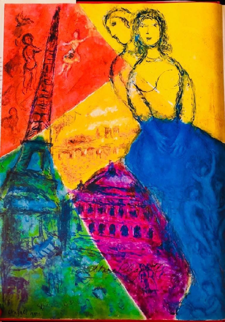 Paris- Lithograph by Marc Chagall - 2
