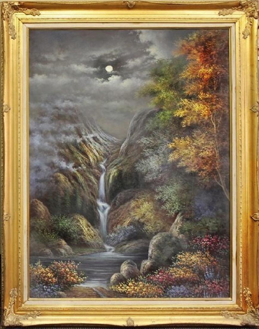 Landscape with Moon - Jaquis