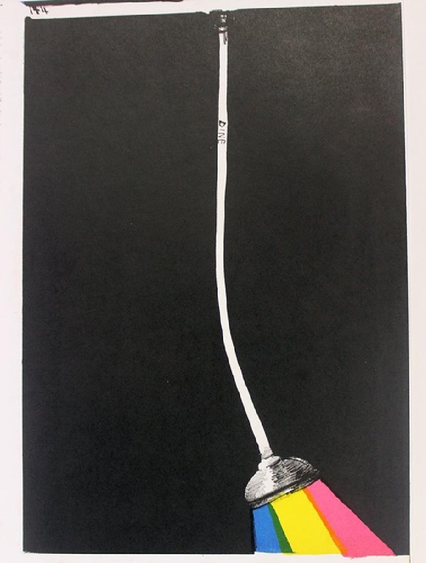 Original Lithographs Sam Francis & Jim Dine