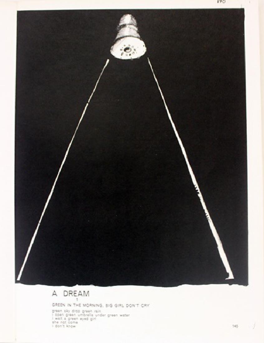 Original Lithographs Sam Francis & Jim Dine - 3