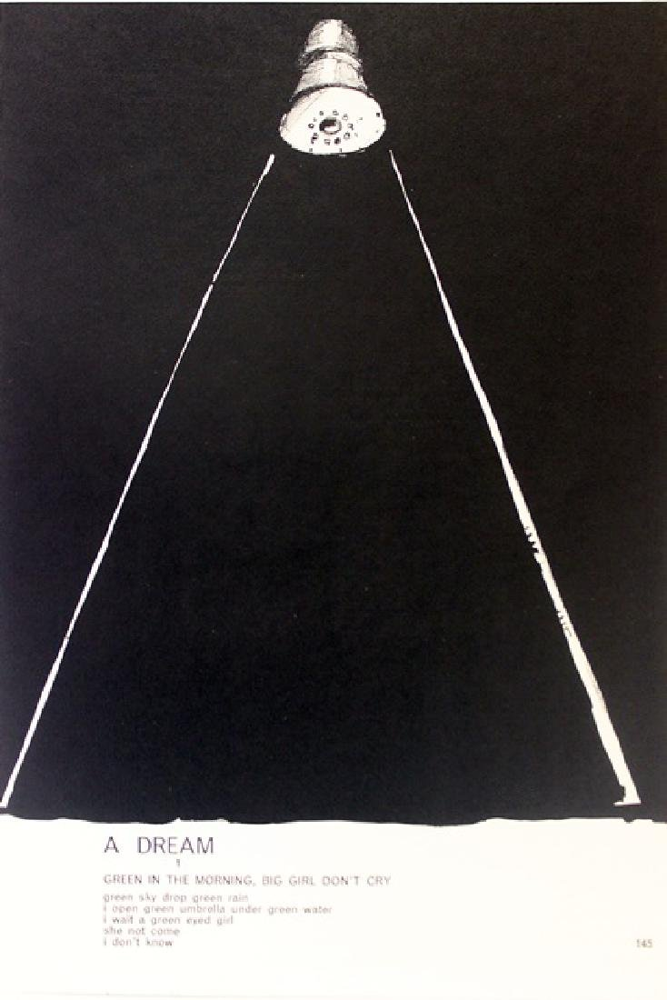 Original Lithographs Sam Francis & Jim Dine - 4