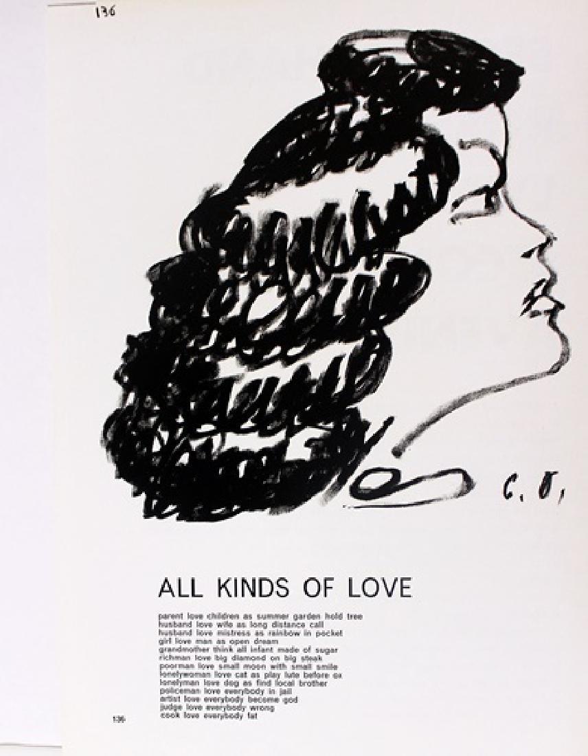 Original Lithographs Sam Francis & Jim Dine - 5