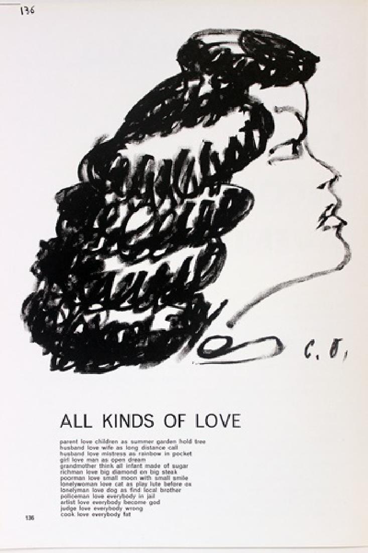 Original Lithographs Sam Francis & Jim Dine - 6