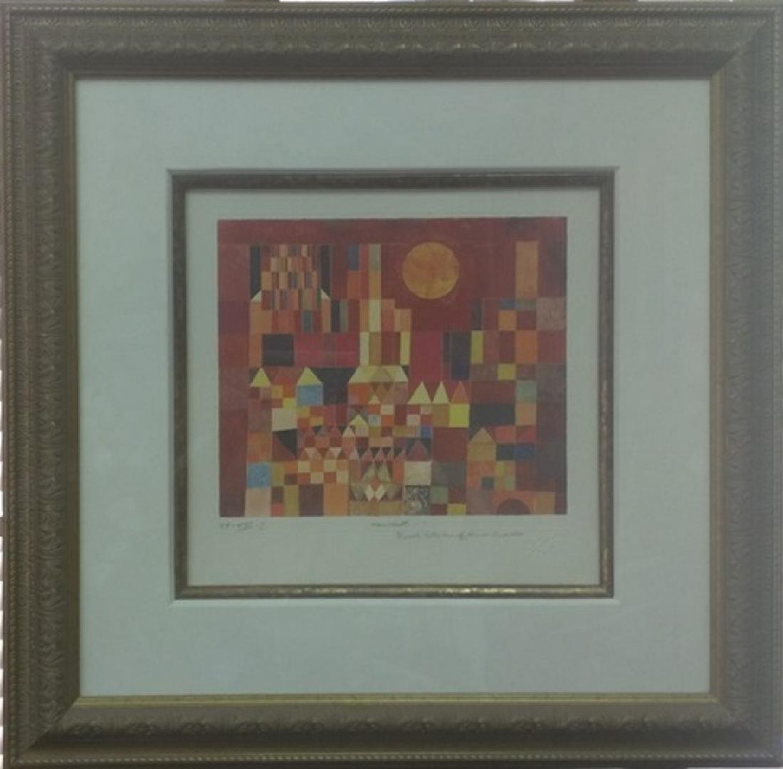 New York - Paul Klee Lithograph