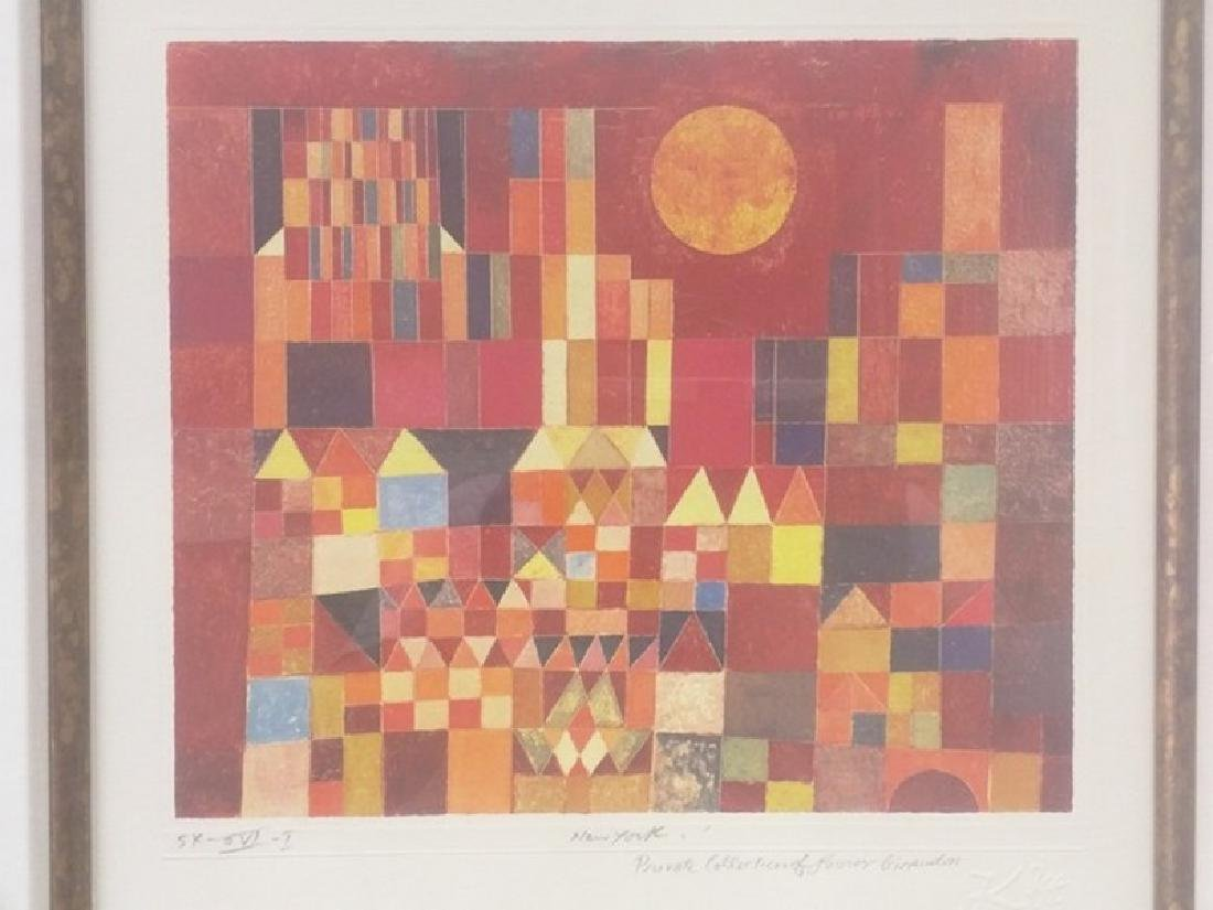 New York - Paul Klee Lithograph - 2