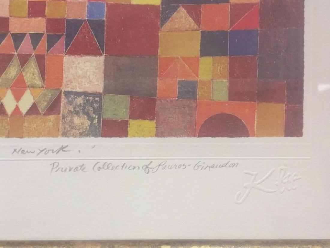 New York - Paul Klee Lithograph - 3