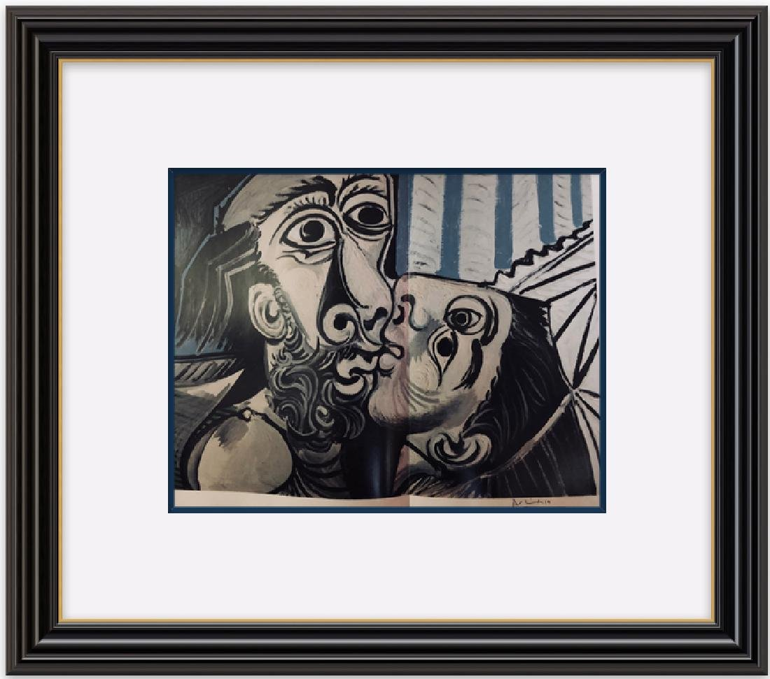 The Kiss -1969 Pablo Picasso