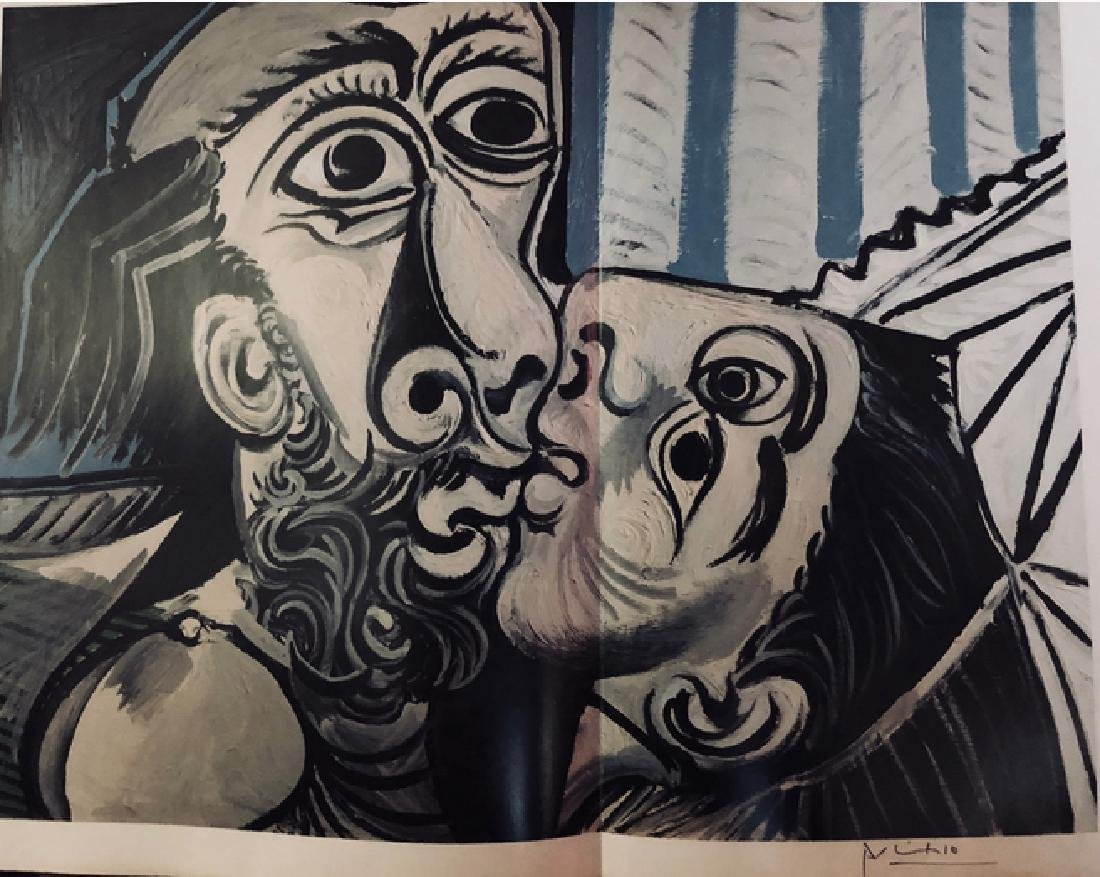 The Kiss -1969 Pablo Picasso - 2