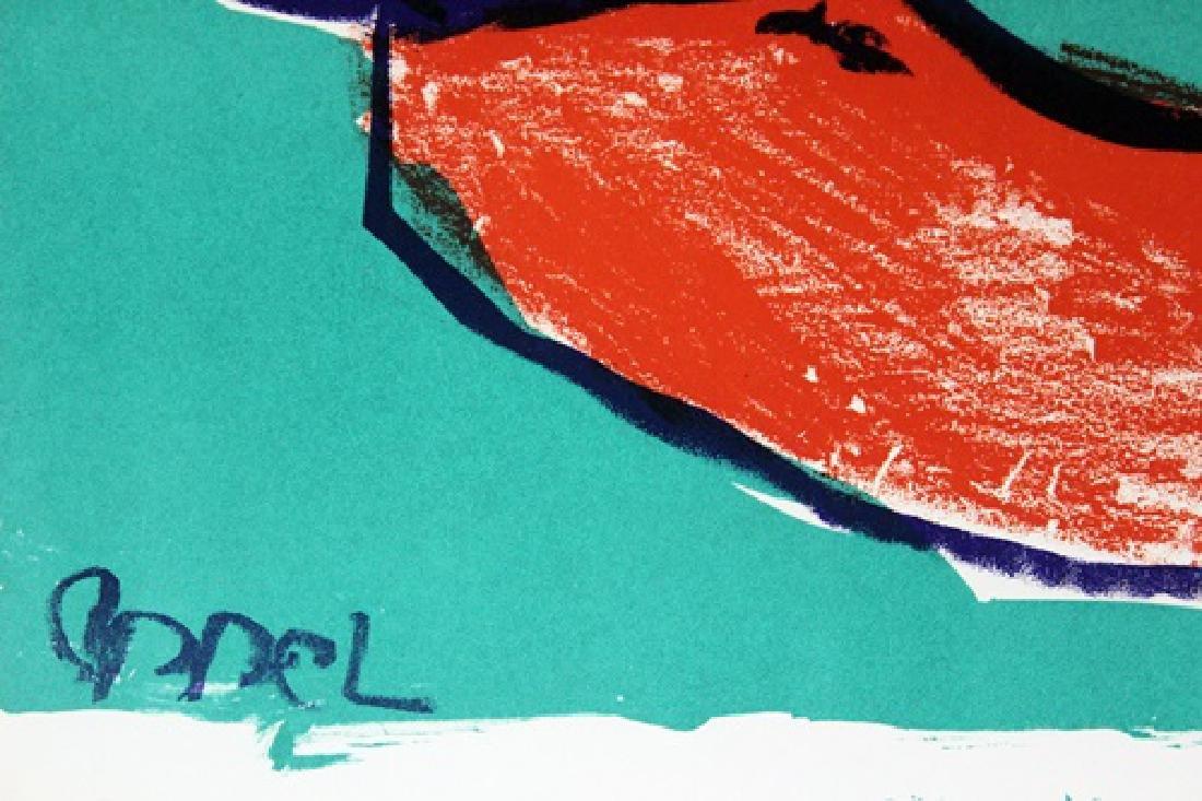 Original Signed Lithograph Karel Appe - 3