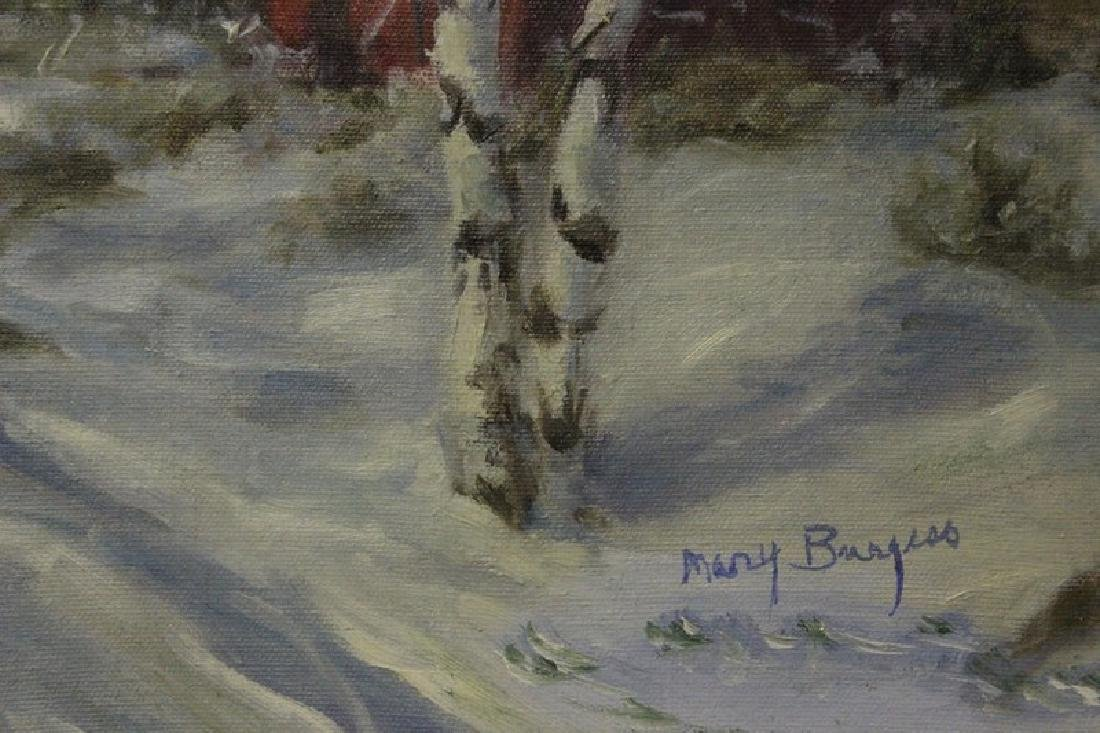 Winter Struck by Mary Burger - 2