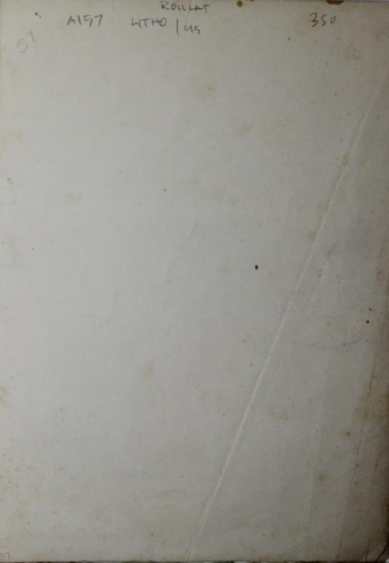 "Original Lithograph ""Catala Roca""- Joan Miro - 2"