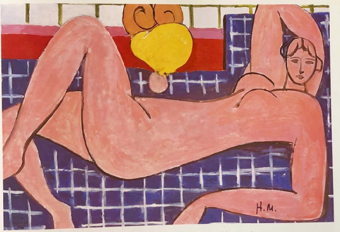 """""""Pink Nude"""" by Henri Matisse - 2"""