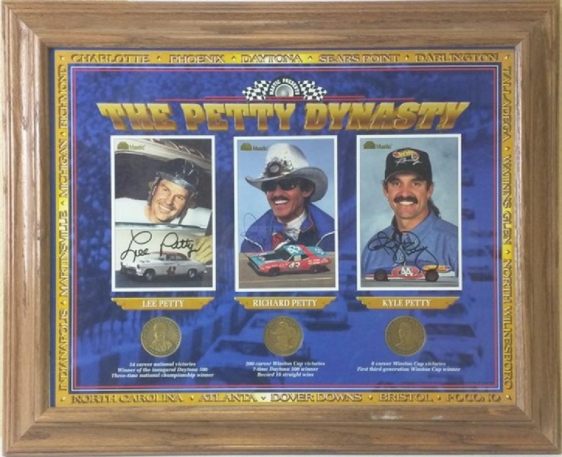 The Petty Dynasty - Framed Memorabilia