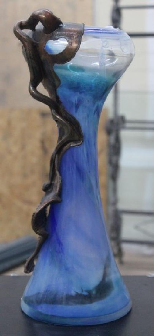 Hand Blown Glass Vase - 2