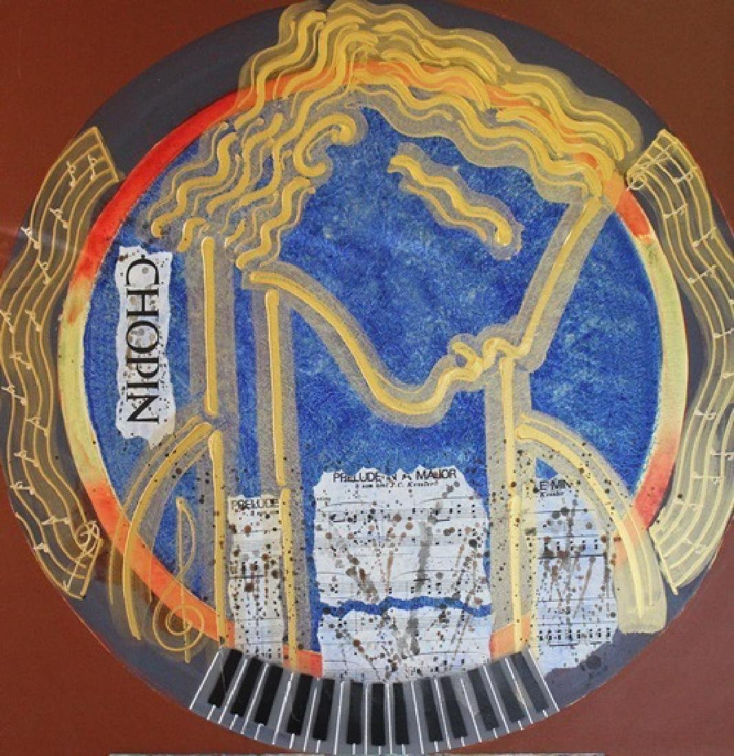 Chopin - Original Painting by Gaylord - 2