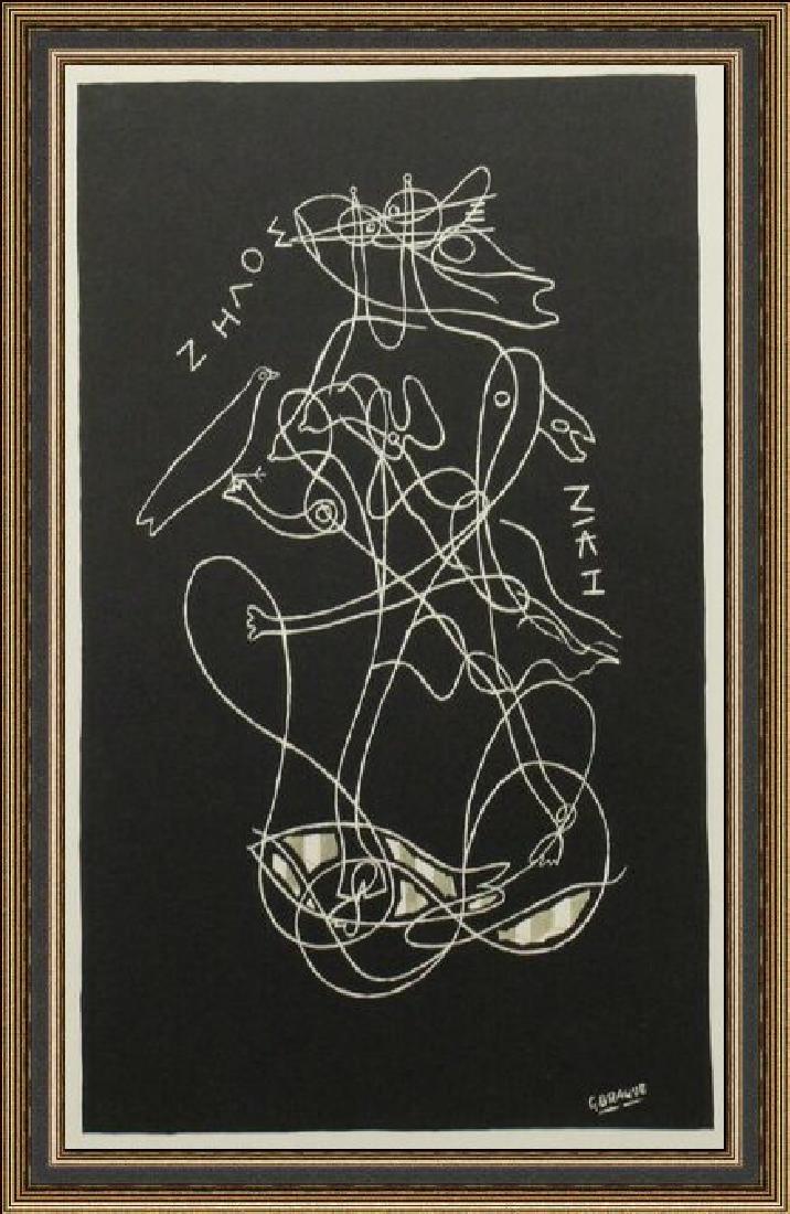 Lithograph Georges Braque -  Zelos