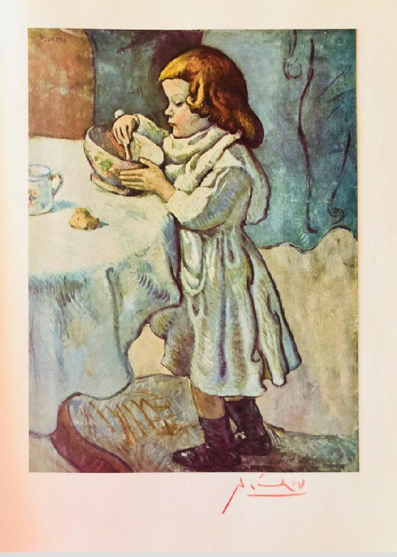 The Gourmet  by Pablo Picasso 1901' - 2