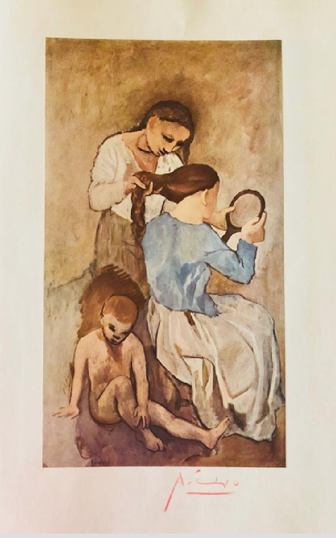 LA COIFFURE by Pablo Picasso - 2
