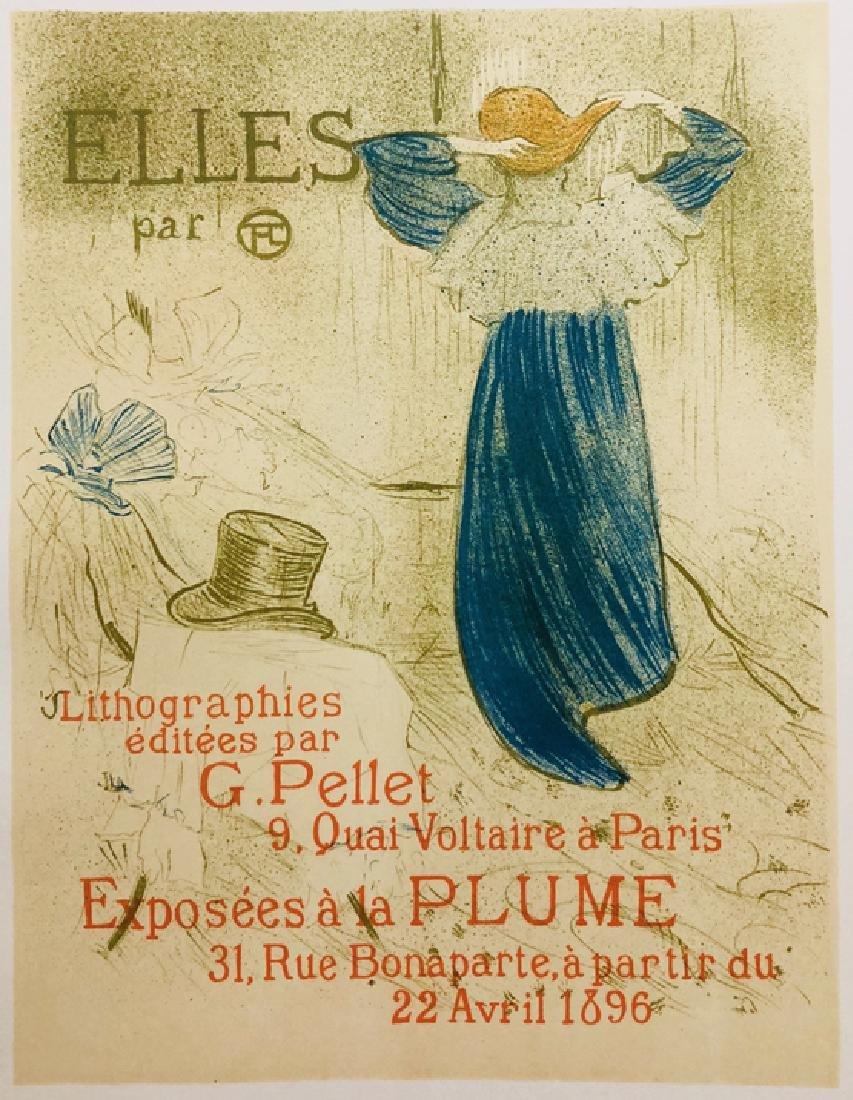 """Lithograph """"ELLES"""", 1899 by Henri de Toulouse-Lautrec - 2"""