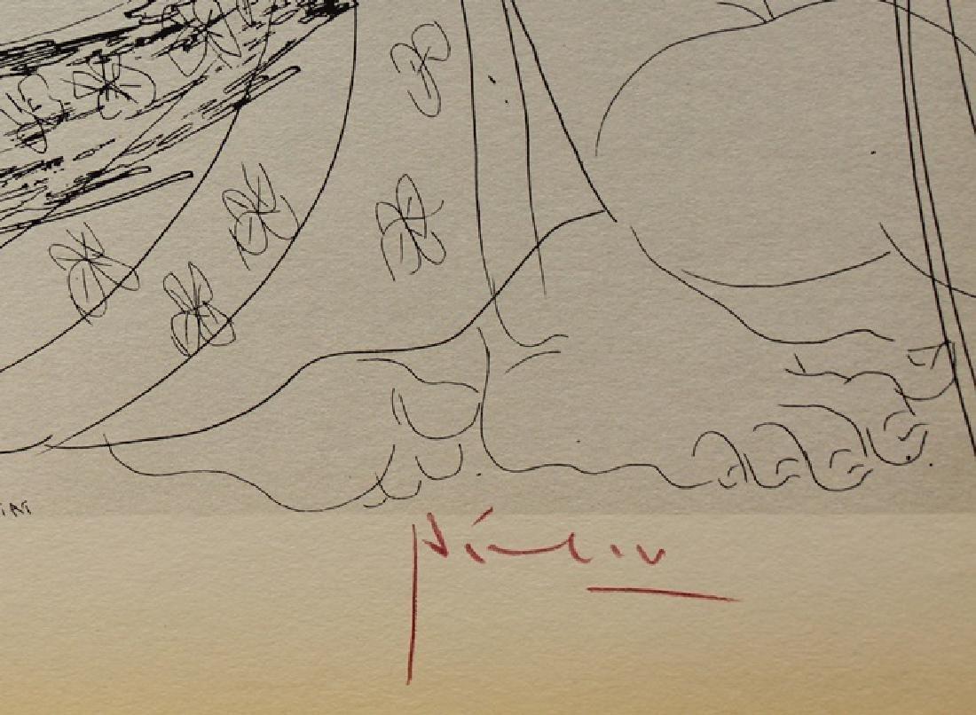 Signed Pablo Picasso Vollard Suite Lithograph - 3