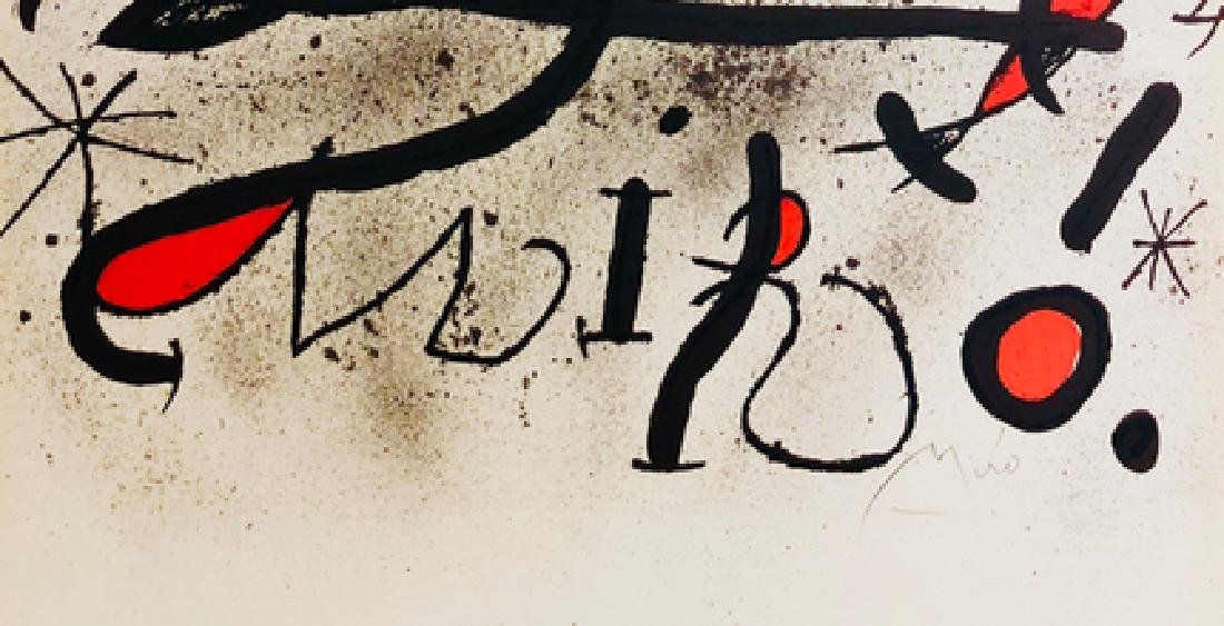 Large Lithograph Print - Joan Miro - 3