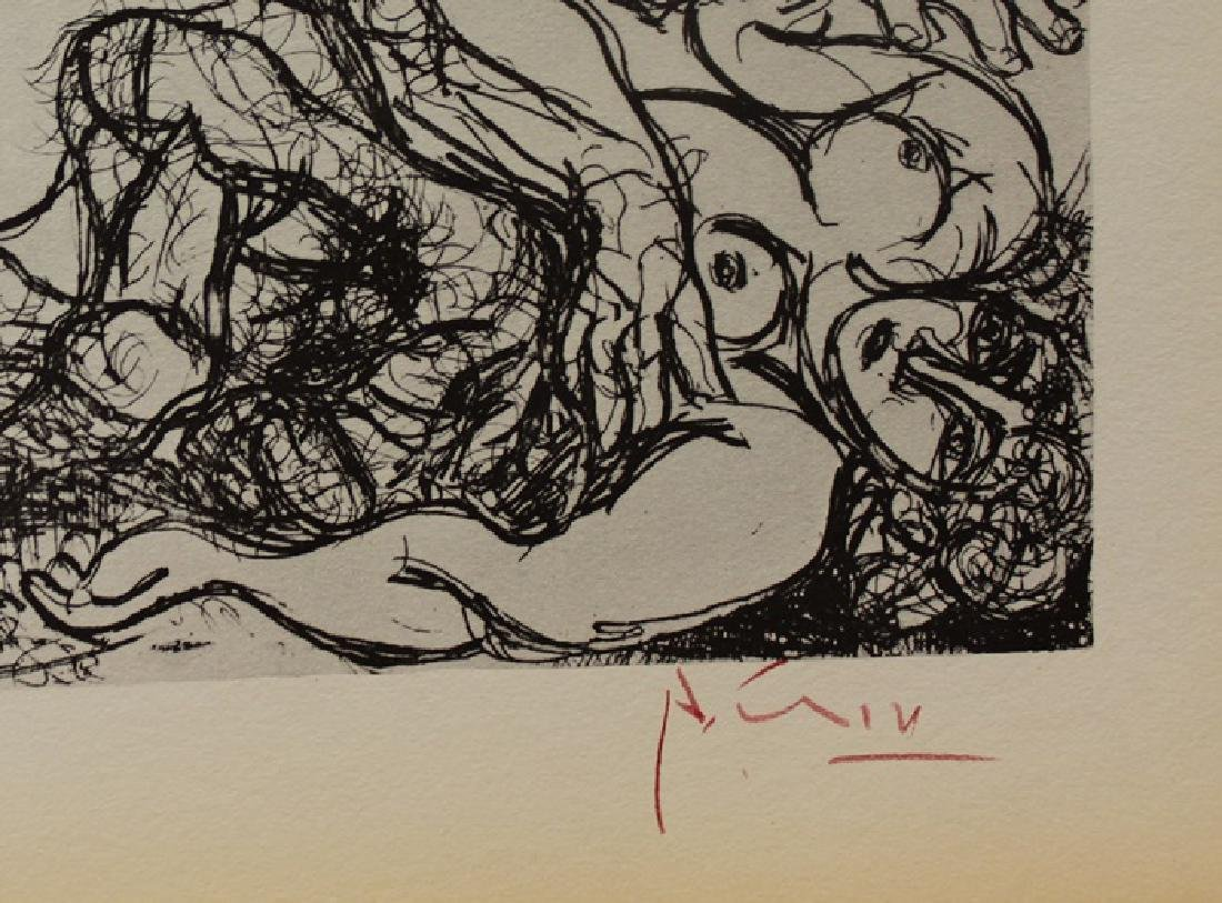 Signed Pablo Picasso Vollard Suite Lithograph - 3