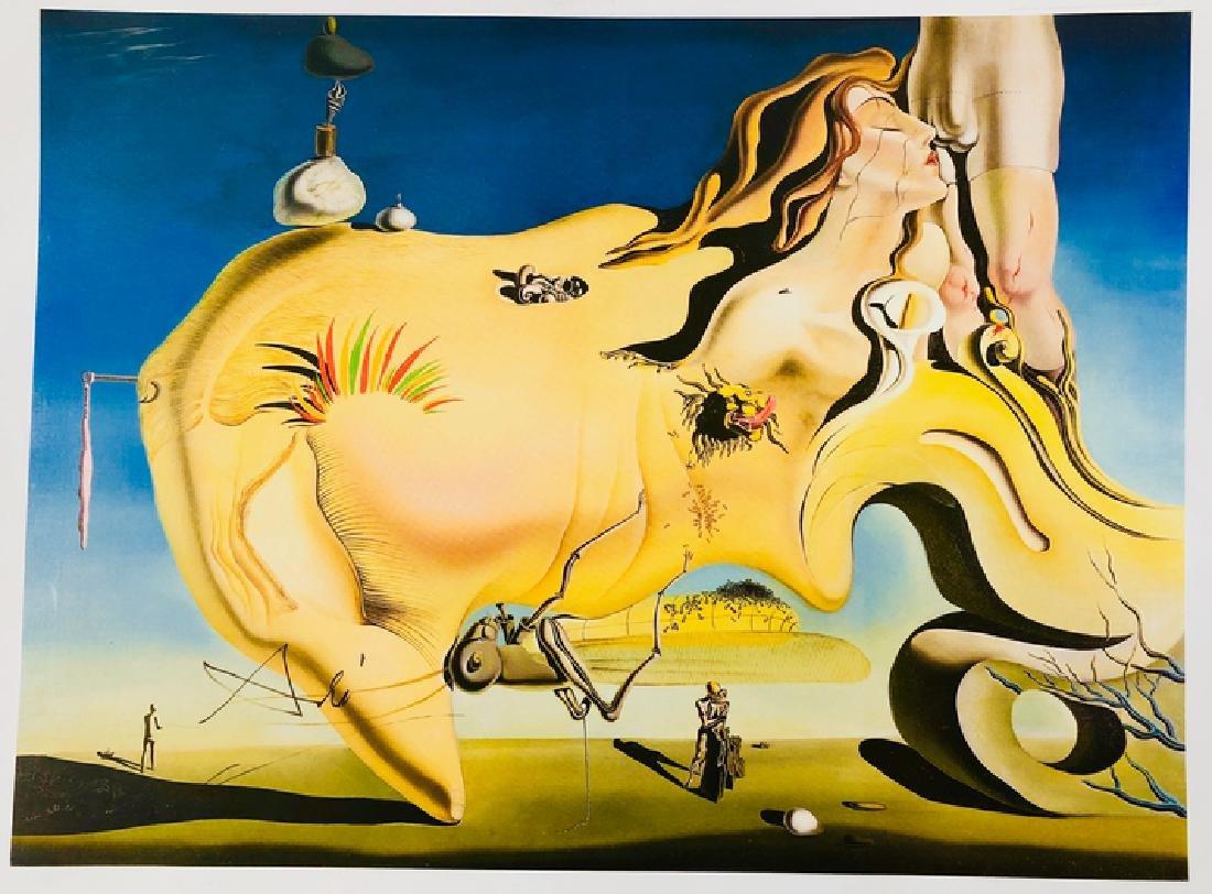 """Salvador Dali """"The Great Masturbator"""" Lithograph - 2"""
