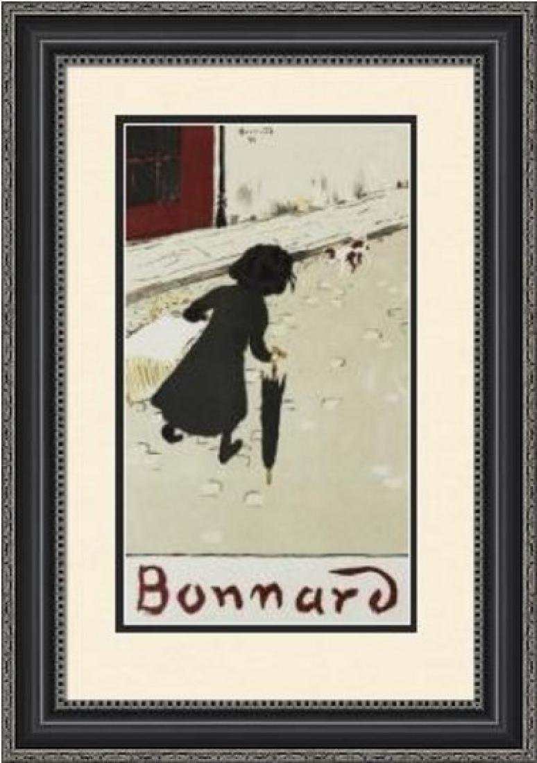 Rare Lithograph by Pierre Bonnard