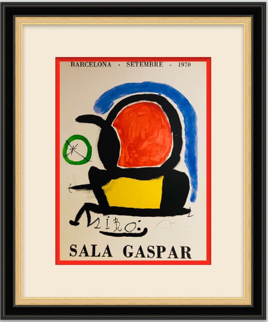 Large Lithograph Print - Joan Miro