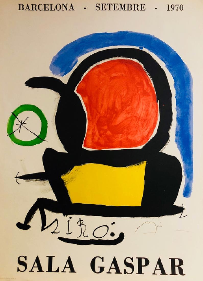 Large Lithograph Print - Joan Miro - 2