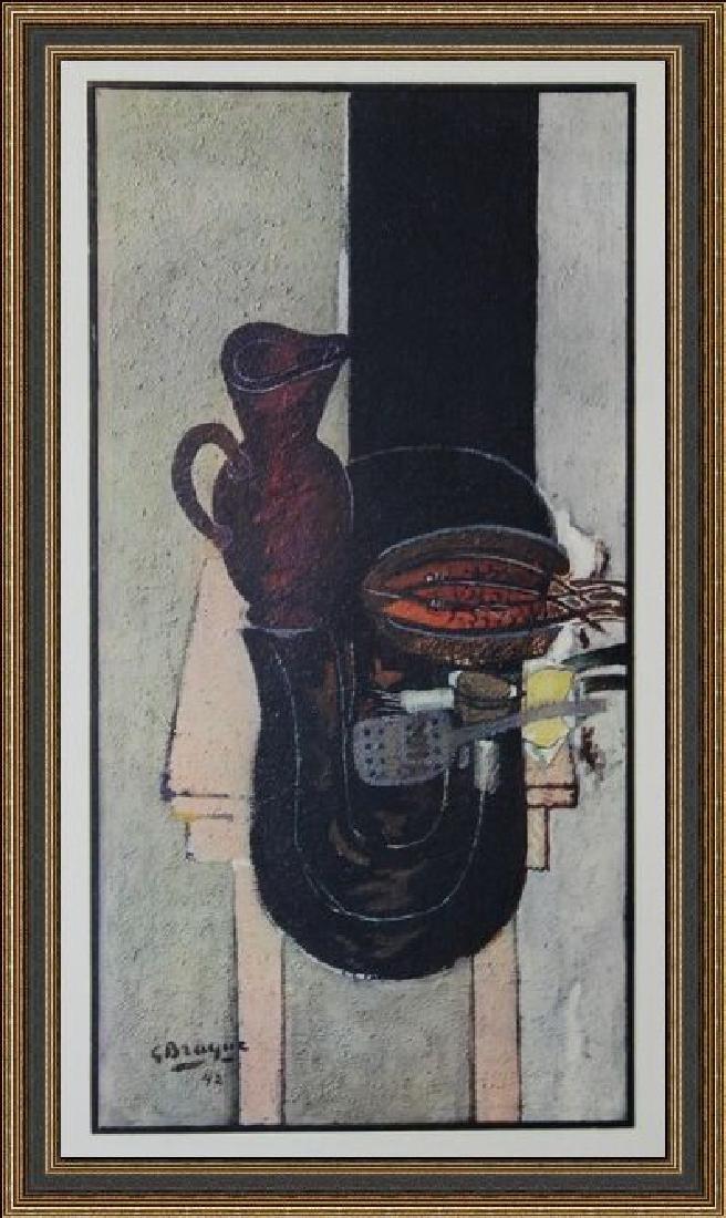 Lithograph Georges Braque - La Table De Cuisine