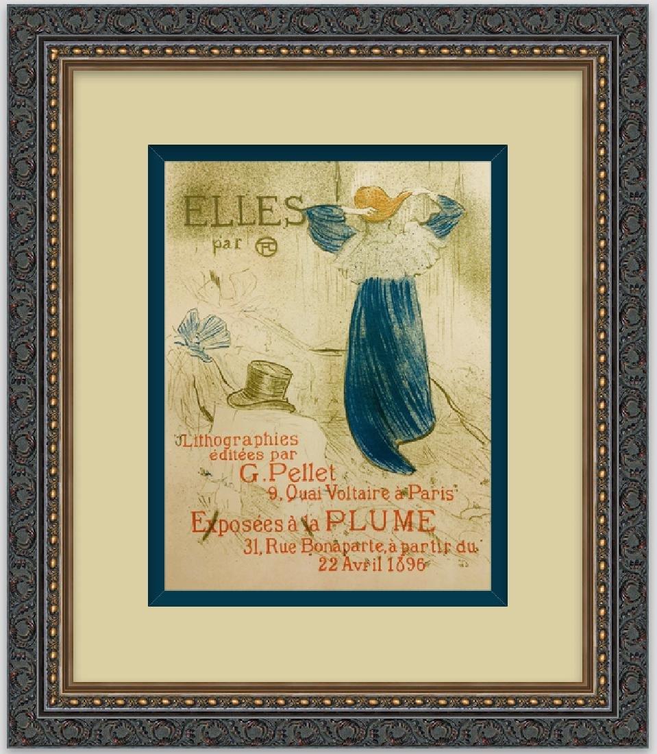 """Lithograph """"ELLES"""", 1899 by Henri de Toulouse-Lautrec"""